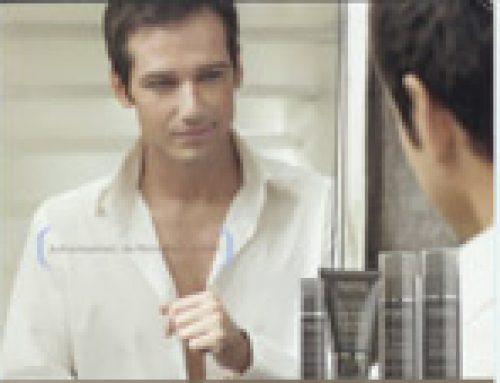 Professionelle Gesichtspflege für den Mann